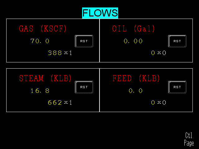 flow totals display lg